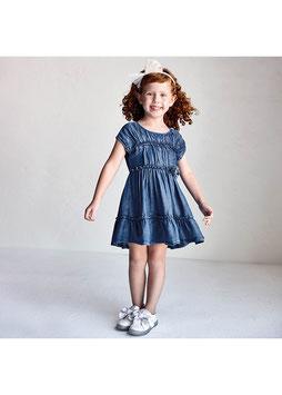 Kleid - Jeanskleid - denim - Ecofriends Tencel Mädchen - MJ