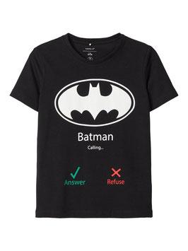 Batman Shirt schwarz - NAME IT JUNGEN