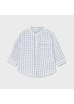 Hemd - Kinderhemd - langarm & kurzarm in einem - Leinenhemd  - Baby  - Jungen - nautic - MJ