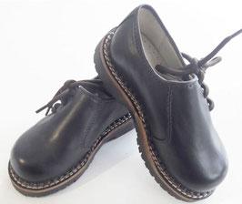 Schuhe - Haferlschuh für Kinder - Glattleder in dunkelbraun