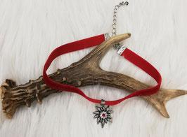 Trachtenkette rot -- Tracht Damen