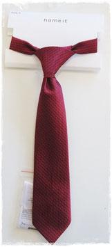 Krawatte rot von name it - TAUFE - FESTMODE