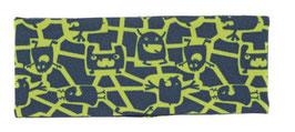Kopfbedeckung - Stirnband - Roboter - blau - gelb - Sterntaler