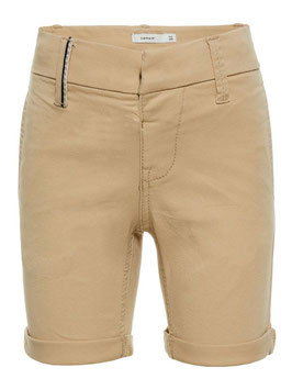 Short - Chino Hose Stretch - creme - stretchig - NAME IT MINI JUNGEN