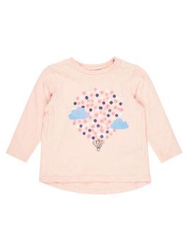 Baby Shirt mit Ballonmotiv peachy keen - NAME IT BABY MÄDCHEN