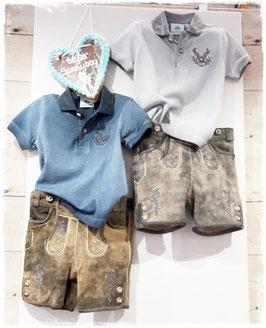 Tracht - Hose - Kinderlederhose urig g´macht in Antiklook - Aktion - Ziegenleder - super weiche Lederhose - Kindertracht