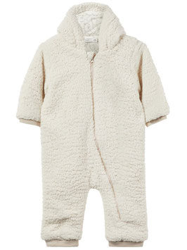 Overall - Teddy Overall super warm neutral - NAME IT BABY JUNGEN
