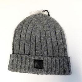 Kopfbedeckung - Strickmütze - grau - melange - ungefüttert - NAME IT