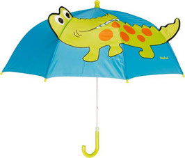 Regenschirm - Krokodil - aqua