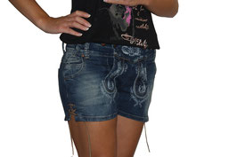 Hose - kurz - Damen Jeans Short - Tracht Damen