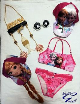 Bademode - Bikini - Eiskönigin Bikini - pink - Disney