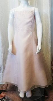 Kleid - rosa - Glasperlen - Spagettitäger - Weise - Festmode