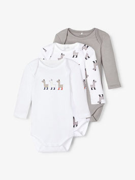 3 er Pack-Body - NAME IT BABY JUNGEN