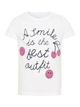 Smile Shirt kurzarm von name it