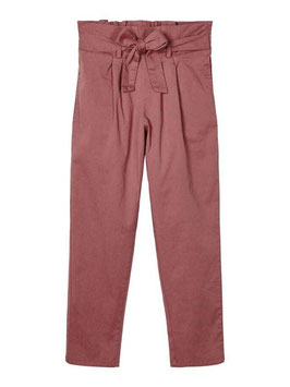 Hose - Baggy - Paperbag - Taillenhose - rose - NAME IT KIDS GIRL