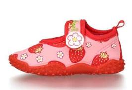 Badeschuhe - Aqua - Schuh Erdbeeren mit UV-Schutz