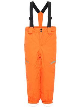 Kinder Skihose orange inkl. Latz - NAME IT KIDS JUNGEN