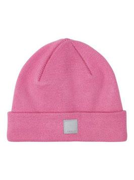 Kopfbedeckung - Strickmütze - Rippstrick - rosa - NAME IT KIDS