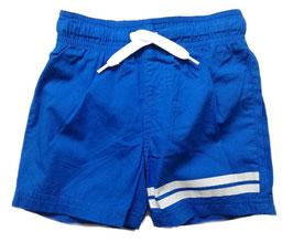 Hose - Badehose - kurz - Skydiver blau - weiße Streifen - NAME IT JUNGE
