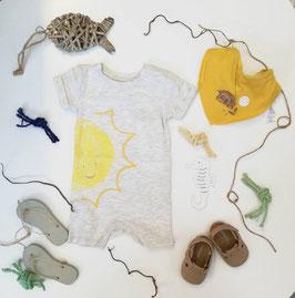 Jumpsuit - Sommer - neutral - Sonnenmotiv - JUMPSUIT für ihr Baby - NAME IT