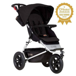 Kinderwagen - Urban Jungle  - schwarz - Mountain Buggy - Kinderwagen
