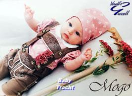 Tracht - Hose - Baby Lederhose aus Baumwolle - superweich - Tracht Mädchen