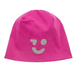 Kopfbedeckung - Mütze - Beanie reflektierend fuchsia - NAME IT KIDS MÄDCHEN