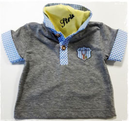 Lausbua Polo kurzarm - Babytracht - Kindertracht