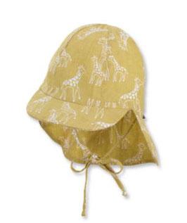 Kopfbedeckung - Schirmmütz - Nackenschutz - UV Schutz - Tiermotiven - Sterntaler