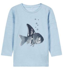 Baby Shirt Fisch aus Biobaumwolle - NAME IT BABY JUNGEN