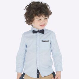 Hemd mit Fliege - festlich und lässiges Kinderhemd