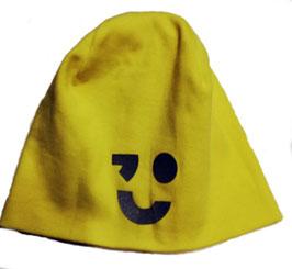 Kopfbedeckung - Mütze - Beanie reflektierend in gelb - NAME IT KIDS
