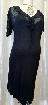 Umstandskleid schwarz - kurzarm - Mama Licious