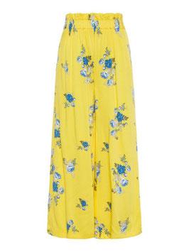Hose gelb mit Blumendruck von name it