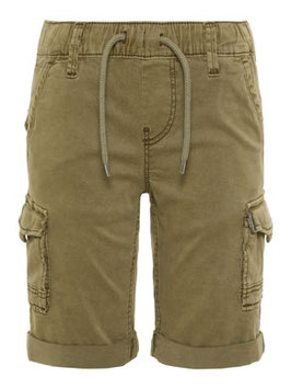 KIDS REGULAR FIT CARGO SHORTS