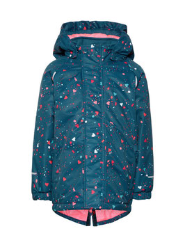 Jacke - Schijacke - wasserdicht - FUNKTIONS Parka - petrol - NAME IT  GIRL
