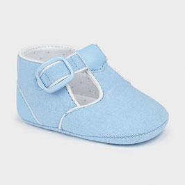 Schuhe - Babyschühchen - Taufschuhe für Jungen  - hellblau - Mayoral - Taufe - Festmode