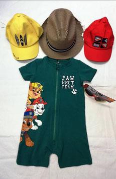 Jumpsuit - Paw Patrol - Jumpsuit grün - NAME IT MINI JUNGEN
