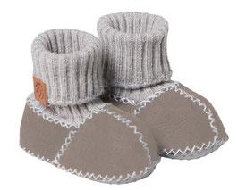 Schuhe - Fellpatscherl Balu in natur mit Noppensohle