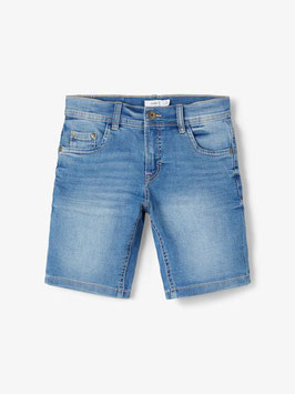 Hose - kurz - Short - kurze Jean - AKTION - REGULAR FIT JEANSSHORTS - blau/Light Blue Denim - NAME IT KIDS JUNGEN