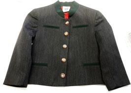 Tracht - Jacke - Ausseer Trachtenjacke grau/grün für Kinder- Kindertracht