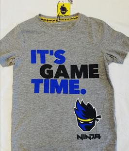 Shirt - Ninja Shirt grau - NAME IT KIDS JUNGEN