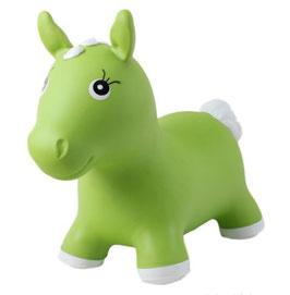 Jumpy - grünes Pferd - Hüpftier