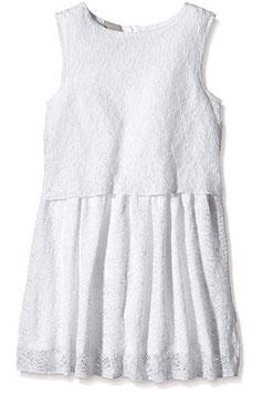 Kleid festlich mit Spitze weiß