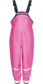 Hose - Regenlatzhose mit Baumwollfutter in pink