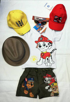 Shirt - kurzarm - weiß - Paw Patrol - NAME IT MINI JUNGEN