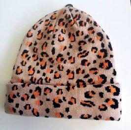 Kopfbedeckung - Tigermütze - natur -  kuschelig - NAME IT - MÄDCHEN