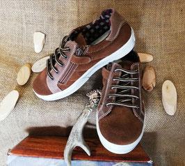 Schuhe - Sneaker für coole Kids - echtes Leder -  Zipp innen - JONAS