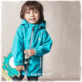 Jacke - Softshell - Jacke aqua wasserdicht - NAME IT MINI JUNGEN