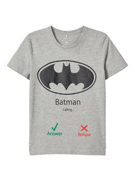 Shirt - Batman Shirt grau - NAME IT JUNGEN